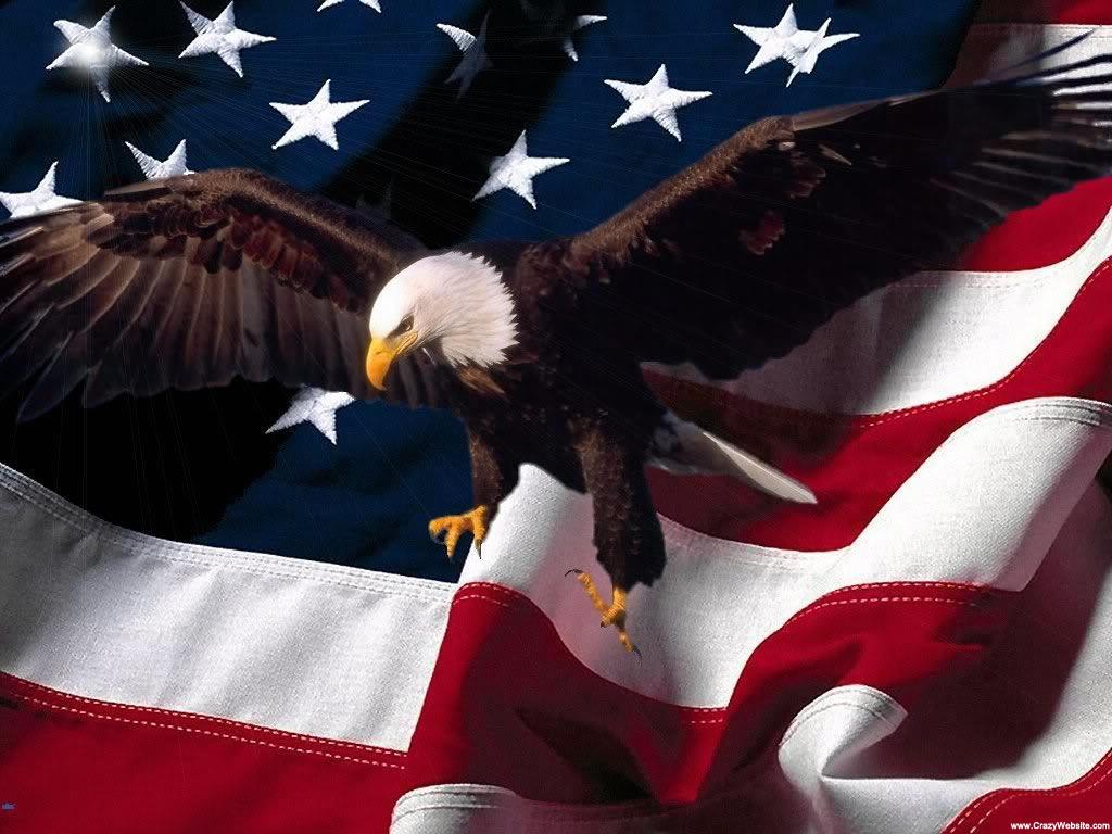 Patriotic Wallpaper Usa Flag Eagle: Eagle-flag-wallpaper