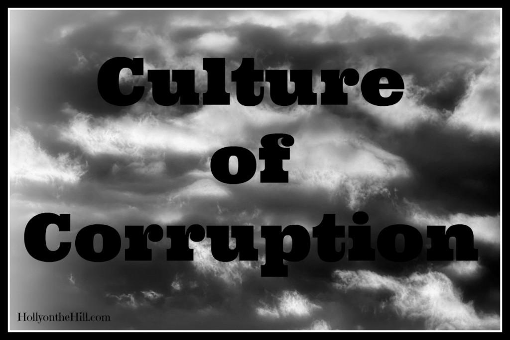 culture of corruption