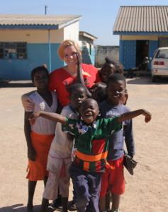 Katie in Zambia